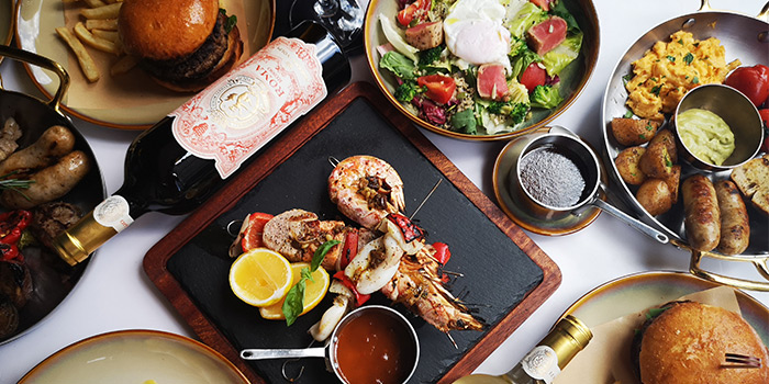 Brunch of Senso Casual Italian Dining located in Changning, Shanghai