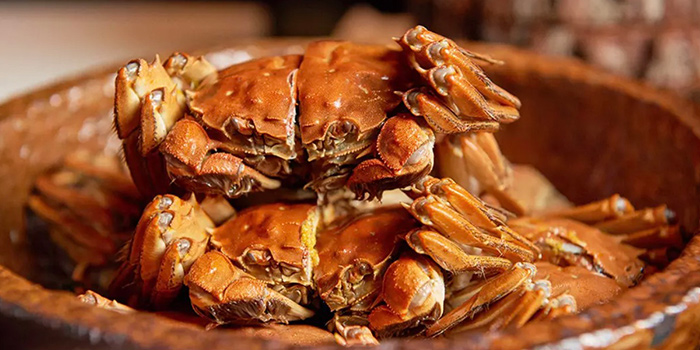 Crab of Elements in Grand Kempinski Hotel Shanghai, Pudong, Shanghai