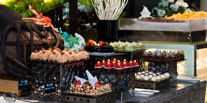 Dessert of Elements in Grand Kempinski Hotel Shanghai, Pudong, Shanghai