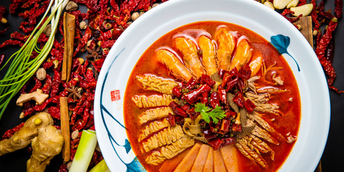 Dish of SPICY SPOT located Xuhui, Shanghai.
