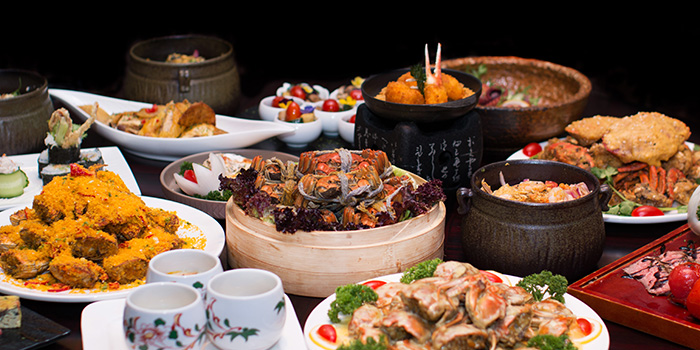 Food of Elements in Grand Kempinski Hotel Shanghai, Pudong, Shanghai
