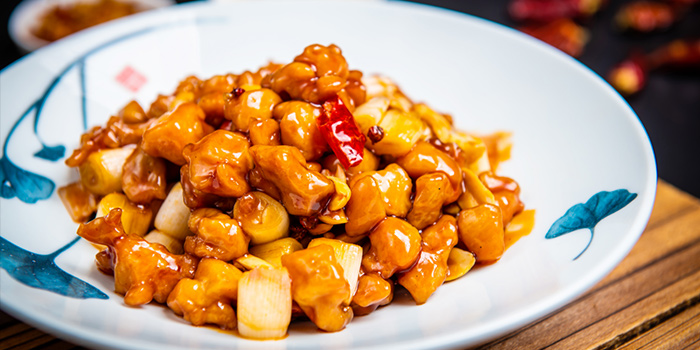 Kongbao Chicken of SPICY SPOT located Xuhui, Shanghai.