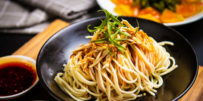 Noodle of SPICY SPOT located Xuhui, Shanghai.