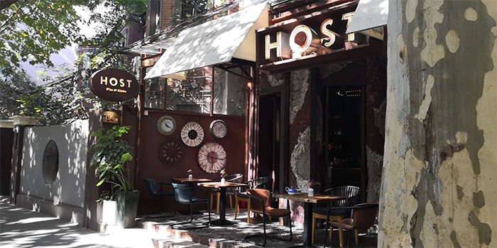 Outdoor of Host Wine & Kitchen located in Jing
