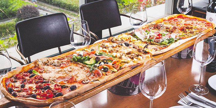 Pizza of Funky Wine by Alla Torre  located in Changning, Shanghai