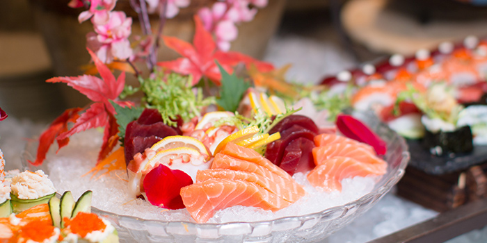 Sashimi of Elements in Grand Kempinski Hotel Shanghai, Pudong, Shanghai