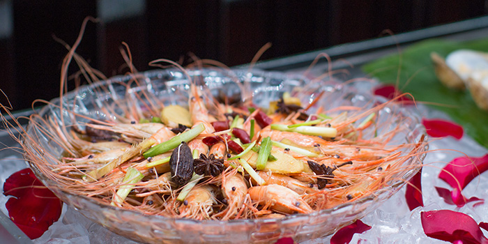 Shrimp of Elements in Grand Kempinski Hotel Shanghai, Pudong, Shanghai