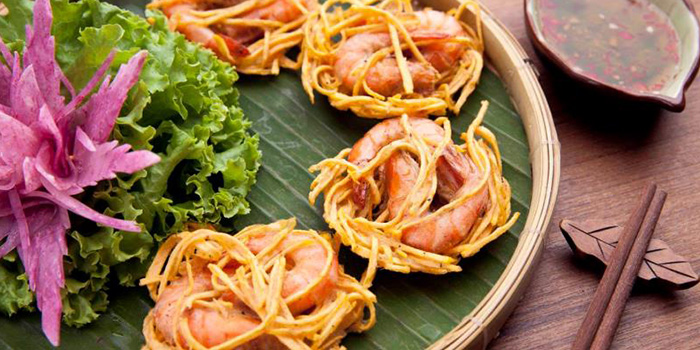 Prawn of Pho To Shop by Cyclo located in Jing