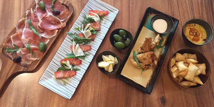 Appetizer of PERCH·WINE·COCKTAILS located in Jing