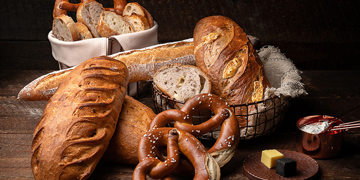 Bread of 1515 West Chophouse & Bar located in Shangri-La Jing