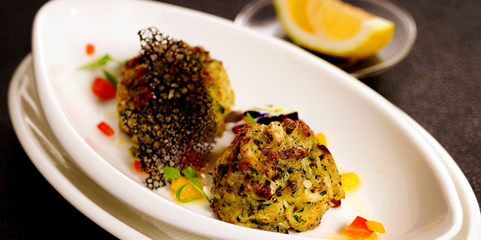 Crab Cake of Jstone. Steak House located in Pudong, Shanghai
