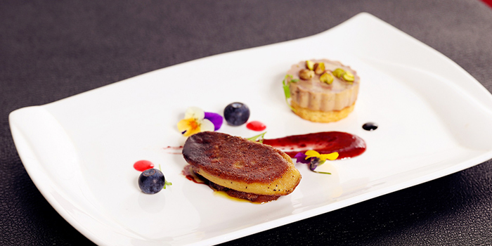 Foie Gras of Jstone. Steak House located in Pudong, Shanghai