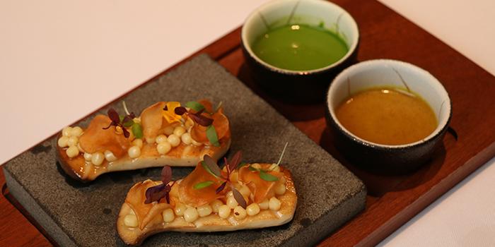 Food of WUJIE On the Bund located on the Bund, Huangpu, Shanghai