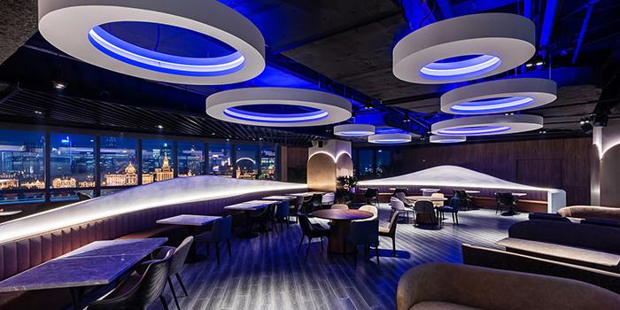 Indoor of eat n work located in Lujiazui, Pudong, Shanghai