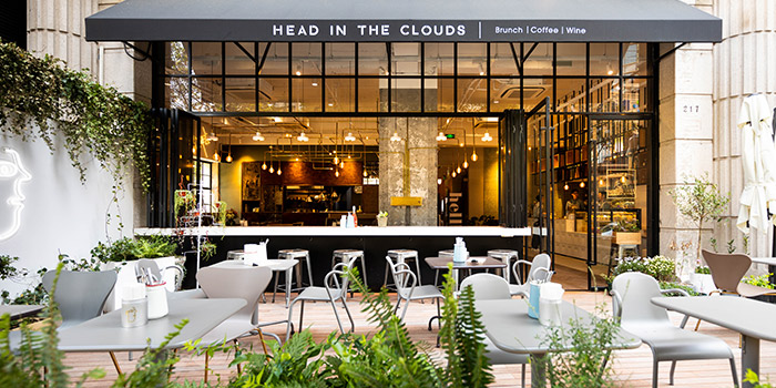 Outdoor of Head in the clouds located in Changning, Shanghai