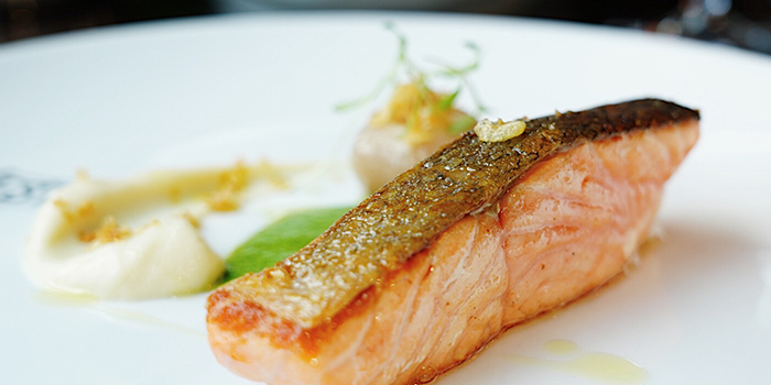 Salmon of 1515 West Chophouse & Bar located in Shangri-La Jing