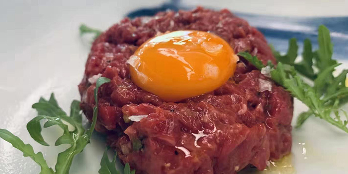 Beef Tartar of Meatopia by Stone Sal located in Lujiazui, Shanghai