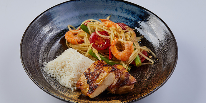 Food of  Urban Cafe (The Sukhothai) Located in Jing
