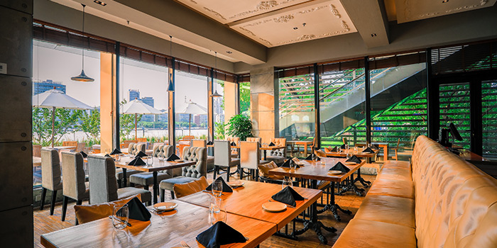 Indoor of TAVOLA Dining located in Pudong, Shanghai