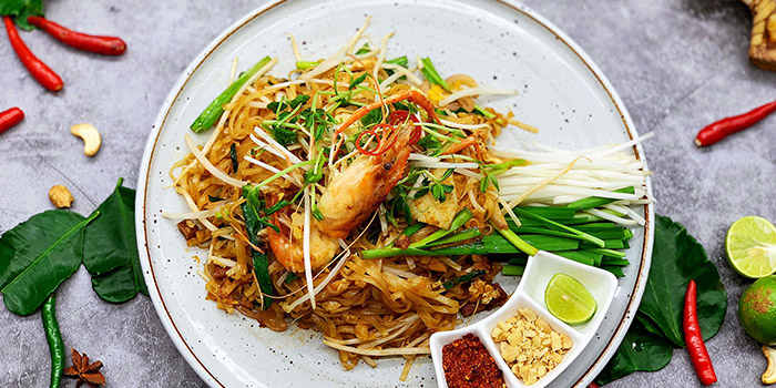 Food of  Pomelo Thai (Shanghai Centre) loated in Jing