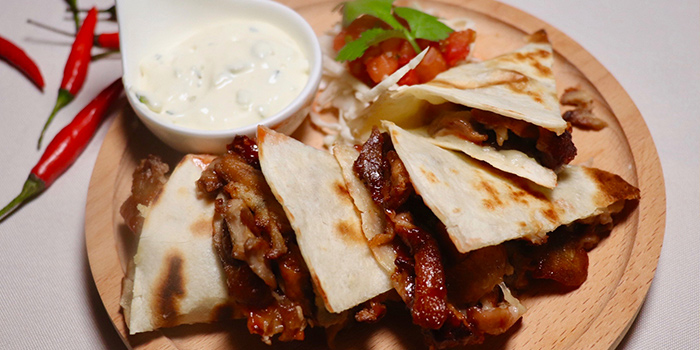 Roast Duck Quesadillas of MAYA in Jing