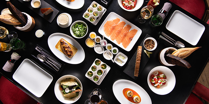 Food from Mr & Mrs Bund - Modern Eatery by Paul Pairet in Huangpu District, Shanghai