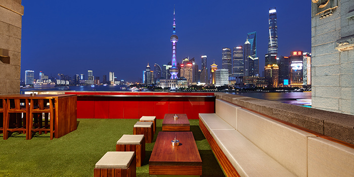 Terrace - Day View of Mr & Mrs Bund - Modern Eatery by Paul Pairet in Huangpu District, Shanghai