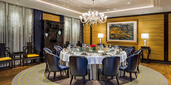 Private Room of of YAN TING (St.Regis Jing