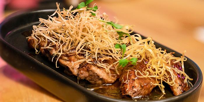 Duroc Pork Neck of THE CUT Meatery located in Xujiahui, Shanghai