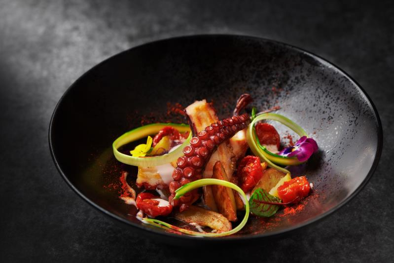 Octopus Salad of La scala (The Sukhothai) Located in Jing