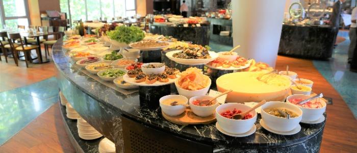 Buffet of Latina (Tongren Lu) in Jingan, Shanghai