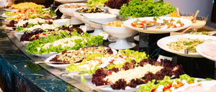 Salad Bar of Latina (Tongren Lu) in Jingan, Shanghai