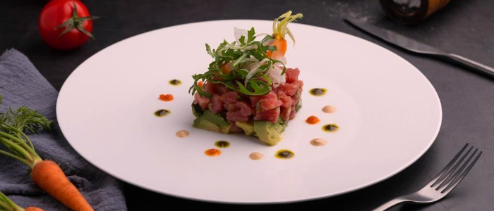 Tartare of RED MARSEILLE located in Pudong, Shanghai