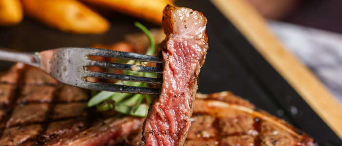 Steak of THE CUT Restaurant & Bar located in Pudong District, Shanghai