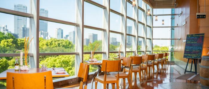 Dining Area from Acqua in Grand Kempinski Hotel Shanghai, Pudong, Shanghai