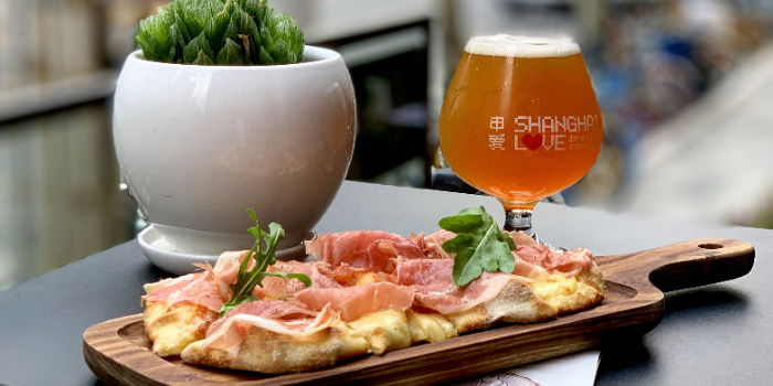 Pizza of PERCH·WINE·COCKTAILS located in Jing
