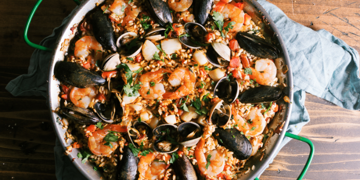 Paella of Hit Wicket Sports Bar and Grill located in Hongkou District, Shanghai