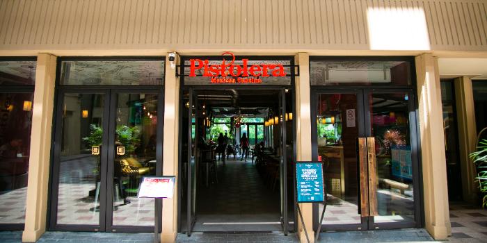 Entrance of Pistolera (Shanghai Centre) in Jing