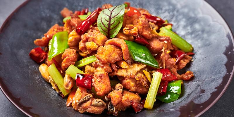Chicken of Xibo located on Changshu Lu, Jing