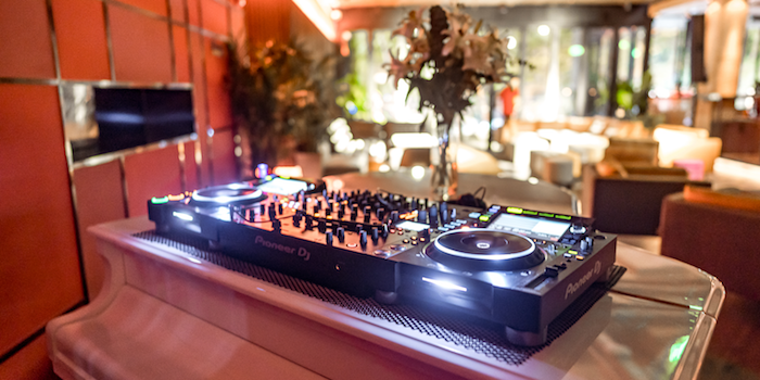 DJ Booth of The Apartment located in Huangpu District, Shanghai