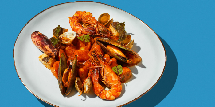 Seafood of ITALO located in Xuhui District, Shanghai