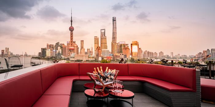 Sky Deck of CE LA VI located in Huangpu District, Shanghai