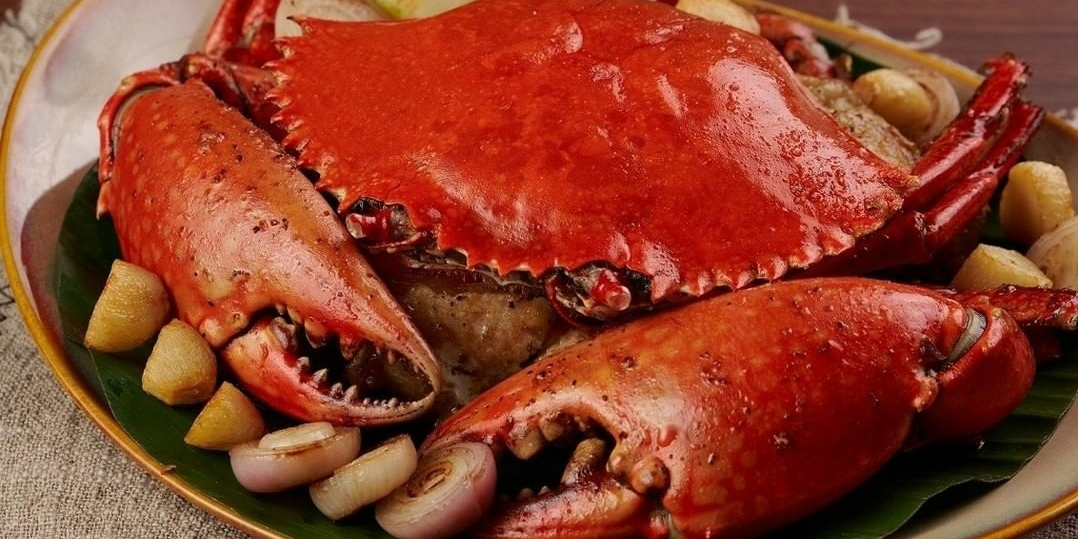 Crab of Urban Cafe (The Sukhothai) Located in Jing