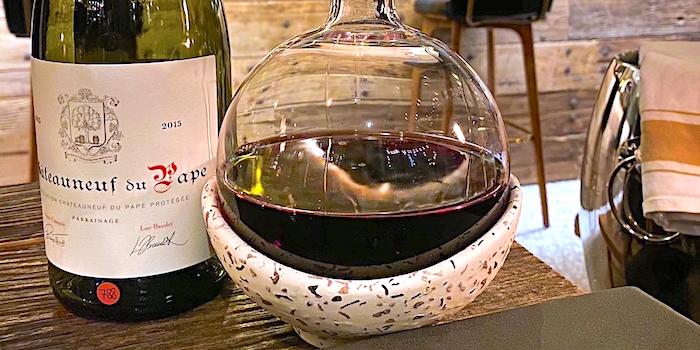 Wine of Chez JOJO located in Xuhui, Shanghai