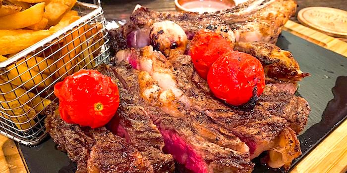 Steak of Chez JOJO located along in Xuhui, Shanghai