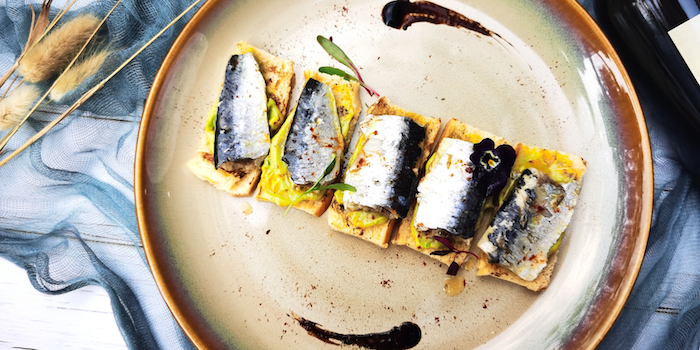 Sardine of Senso Casual Italian Dining located in Changning, Shanghai