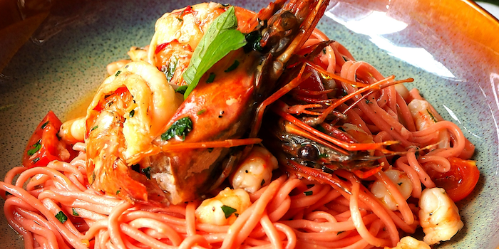 Seafood Pasta of Senso Casual Italian Dining located in Changning, Shanghai