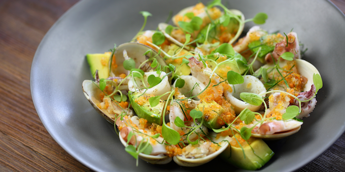 Warm Seafood Salad with Avocado, Lemon and Parsley of Mercato by Jean-Georges located in Huangpu District, Shanghai