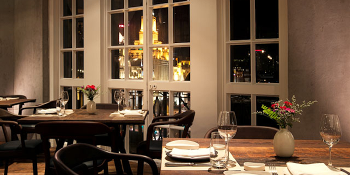 Dining Room of Mercato by Jean-Georges located in Huangpu District, Shanghai